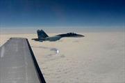 Sukhoi Nga chặn máy bay do thám Mỹ trên biển Baltic