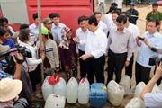 Thủ tướng thị sát chống hạn tại Ninh Thuận