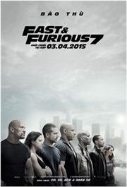 """Bom tấn """"Fast & Furious 7"""" đạt doanh thu 109 tỷ đồng tại Việt Nam"""