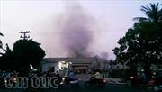 Đang cháy lớn tại khu chế xuất TPHCM