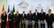 G-7 đặt điều kiện dỡ bỏ trừng phạt Nga