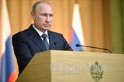 Ông Putin dự đoán kinh tế Nga trở lại đà tăng trưởng trong 2 năm