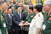 Chủ tịch nước gặp mặt Ban chỉ đạo công trình sách 'Kí ức người lính'