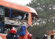 Hai xe tải ngược chiều tông nhau, 6 người tử vong