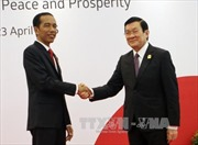 Chủ tịch nước Trương Tấn Sang phát biểu tại Hội nghị Cấp cao Á-Phi