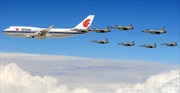 8 chiến đấu cơ Pakistan hộ tống máy bay chở Chủ tịch Trung Quốc