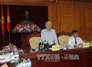 Tổng Bí thư Nguyễn Phú Trọng làm việc tại tỉnh Lạng Sơn