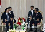 Hoạt động của Chủ tịch nước tại Hội nghị Cấp cao Á- Phi