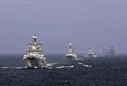 Nga-Trung lần đầu tập trận chung trên Địa Trung Hải