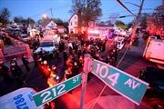 Một cảnh sát New York bị bắn trúng đầu