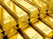 Giá vàng giao dịch gần mức thấp nhất trong sáu tuần