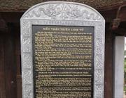 'Dựng chui' bia đá tại đền Trần: Vẫn đang chờ… chỉ đạo