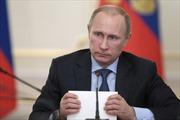 Tổng thống Nga Putin tiếp Chủ tịch Cuba