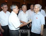 Tổng Bí thư tiếp xúc cử tri các quận Ba Đình, Tây Hồ