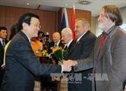 Chủ tịch nước gặp các giáo sư, chuyên gia Séc giúp đỡ Việt Nam