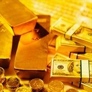 USD giảm giá mạnh, vàng lên giá