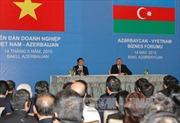 Chủ tịch nước dự Diễn đàn doanh nghiệp Việt Nam-Azerbaijan