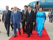 Chủ tịch nước kết thúc tốt đẹp chuyến thăm Azerbaijan