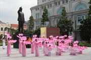 Khánh thành Tượng đài Bác tại Thành phố Hồ Chí Minh