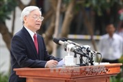 Phát biểu của Tổng Bí thư tại lễ khánh thành Tượng đài Bác