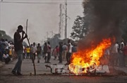 Bạo lực leo thang tại Burundi