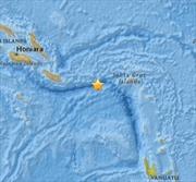 Động đất 6,9 độ richter ngoài khơi Quần đảo Solomon