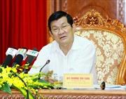Chủ tịch nước gửi thư khen các lực lượng phòng chống ma túy