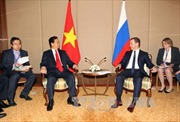 Thủ tướng Nguyễn Tấn Dũng gặp Thủ tướng Nga Medvedev