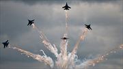 Không quân Nga tranh tài đẹp mắt trên bầu trời