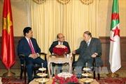 Thủ tướng Nguyễn Tấn Dũng hội kiến Tổng thống Algeria