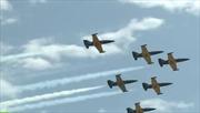 Máy bay Nga nhào lộn mãn nhãn trên bầu trời Sochi