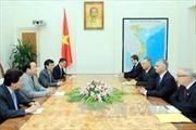Ngoại trưởng Thụy Sỹ tới Việt Nam