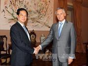 Thủ tướng Nguyễn Tấn Dũng hội kiến Tổng thống Bồ Đào Nha