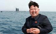 Ông Kim Jong-Un thị sát phóng tên lửa từ tàu ngầm