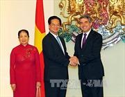 Thủ tướng Nguyễn Tấn Dũng hội kiến Tổng thống Bulgaria