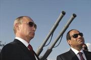 Ai Cập, Nga lần đầu tập trận hải quân chung