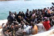 Hơn 5.000 người di cư được cứu trên biển Địa Trung Hải