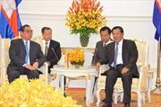 Lãnh đạo Campuchia tiếp đoàn Đại biểu Đảng Cộng sản Việt Nam