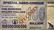 35 triệu tỷ Zimbabwe đổi được 1 USD