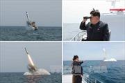 Ông Kim Jong Un theo dõi phóng thử tên lửa chống hạm