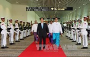Thủ tướng bắt đầu tham dự Hội nghị Cấp cao CLMV 7