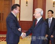 Tổng Bí thư Nguyễn Phú Trọng tiếp Đại sứ Triều Tiên