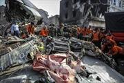 Indonesia khắc phục hậu quả vụ tai nạn máy bay