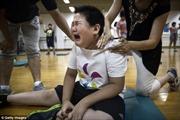Nước mắt trong trại giảm béo cho trẻ em Trung Quốc