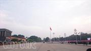 Nắng đẹp trên Quảng trường Ba Đình lịch sử
