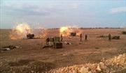 Hình ảnh quân đội Syria phản công dữ dội IS