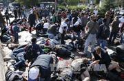 Hiện trường đẫm máu sau 2 vụ nổ tại Thổ Nhĩ Kỳ