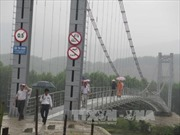 Quảng Nam đưa vào sử dụng toàn bộ cầu treo ở vùng lũ quét