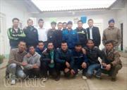 Nhóm 18 lao động cuối cùng bị ngược đãi tại Algeria về nước