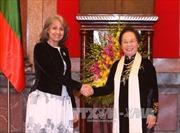 Phó Chủ tịch nước Nguyễn Thị Doan hội đàm với Phó Tổng thống Bulgaria
